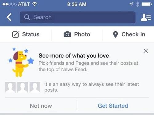 El algoritmo del news feed de Facebook recibirá otro cambio