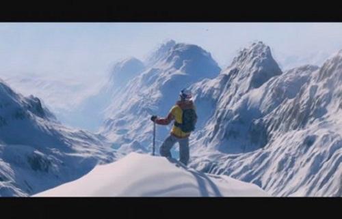 El esquí también es uno de los deoprtes principales de Steep