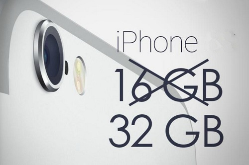 El iPhone aumentará su capacidad a 32GB base