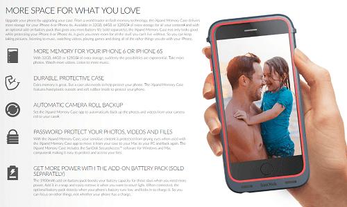 El iXpand ofrece mayor espacio para el contenido que desees