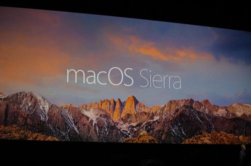 El usuario decidirá si activar o no el algoritmo al usar MacOS Sierra