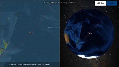 Explore la Tierra por Satélites