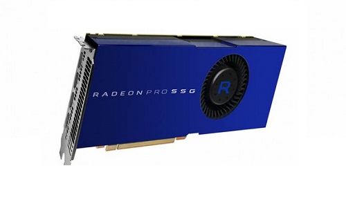 AMD anuncia tarjeta de video Radeon Pro SSG con 1TB de memoria en estado solido