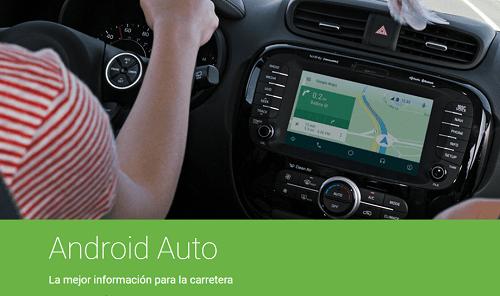 Android Auto usando mapas