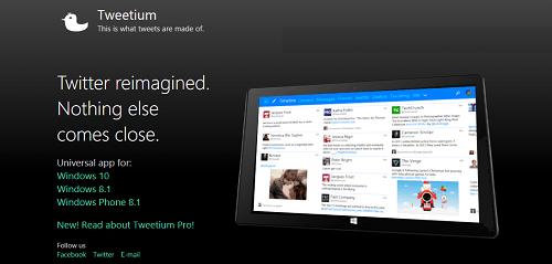 App Tweetium