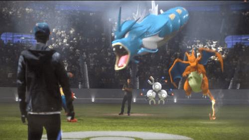 Batalla entre entrenadores Pokemon