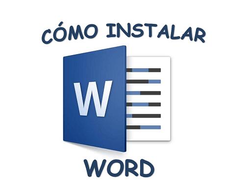 Cómo instalar Word