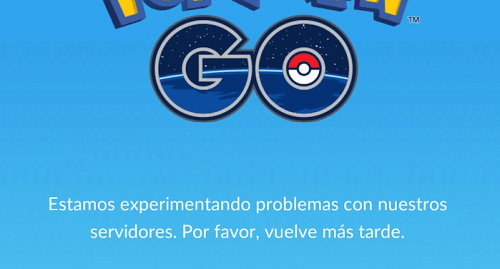 Caidas en los servidores de Pokémon Go