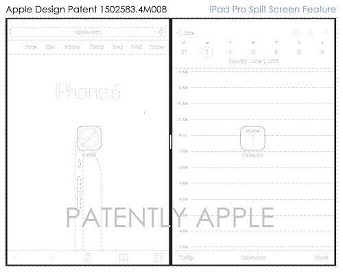 Característica Split Screen del iPad Pro