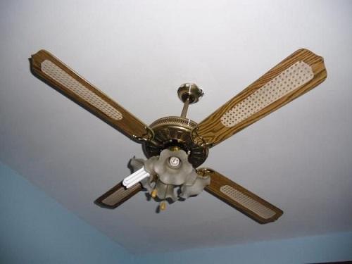 Como instalar un ventilador de teto