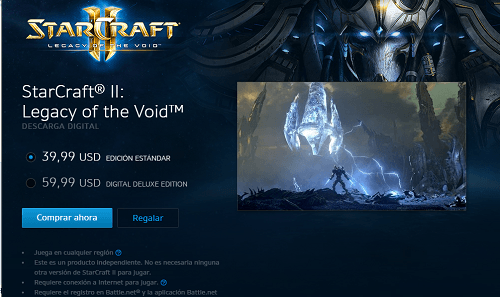 Descargar StarCraft II Legacy of the Void para Android