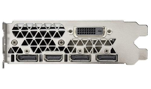 Conectores de la NVIDIA GT 1060