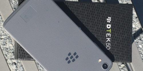 DTEK50 de BlackBerry se hace oficial, corre Android y cuesta $299