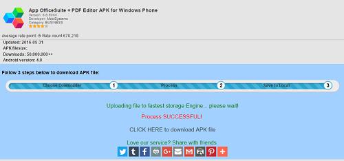 OfficeSuite 8 + PDF Converter para Windows Phone