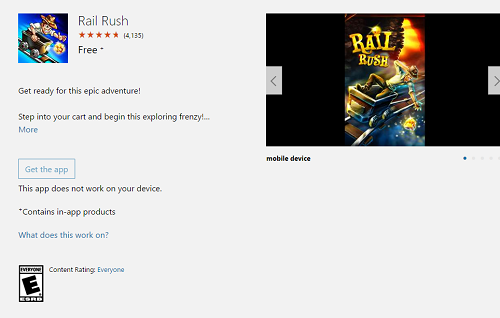 Rail Rush, la alternativa al Subway Surfers