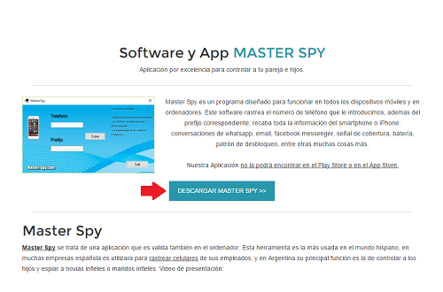 Descargar master spy