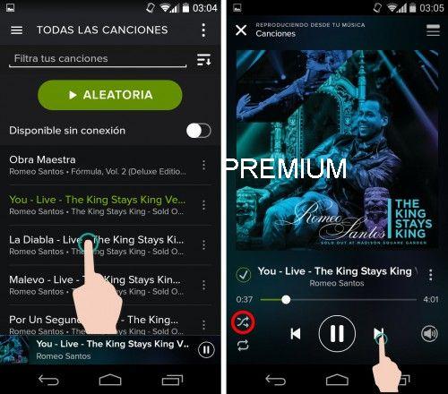 Descargar Spotify Premium para Android
