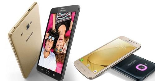 El Galaxy J Max vendrá en colores dorado y negro