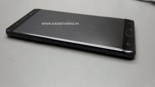 El Samsung Galaxy Note7 regresa con más fotos filtradas