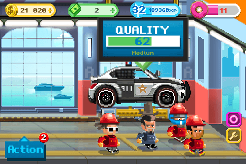 Motor World Car Factory para Android