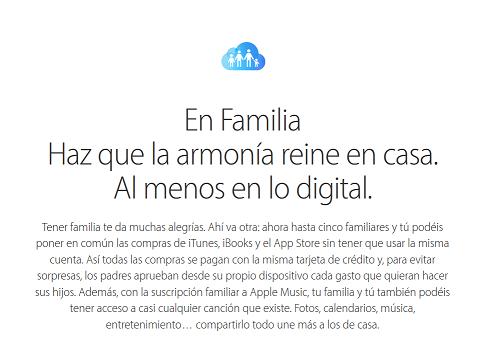 En Familia de Apple