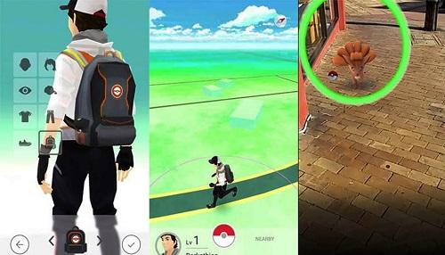 Explorar ciudades en busca de Pokemons