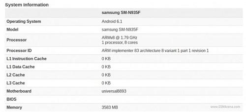 Filtración del prototipo con Android 6.1
