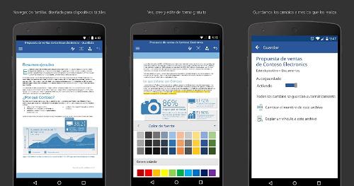 Microsoft Word para Celular