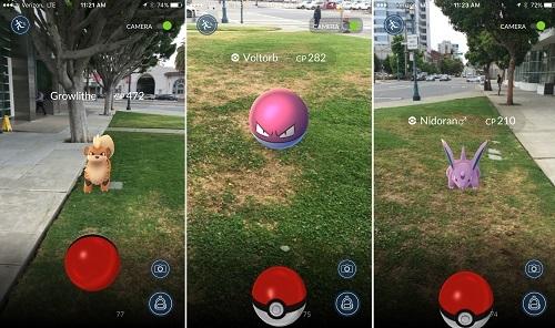 Gamepaly de Pokémon Go