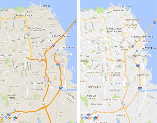 Google Maps ahora resalta vecindarios y zonas con mayor actividad