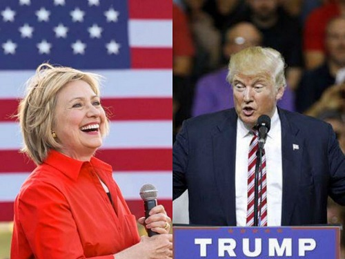 Hilary Clinton Vs Donald Trump