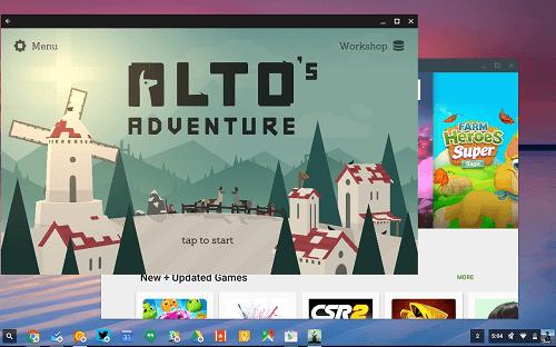 Juegos de la PLay Store en Chrome OS