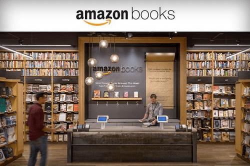 Las tiendas reciben el nombre de Amazon Books