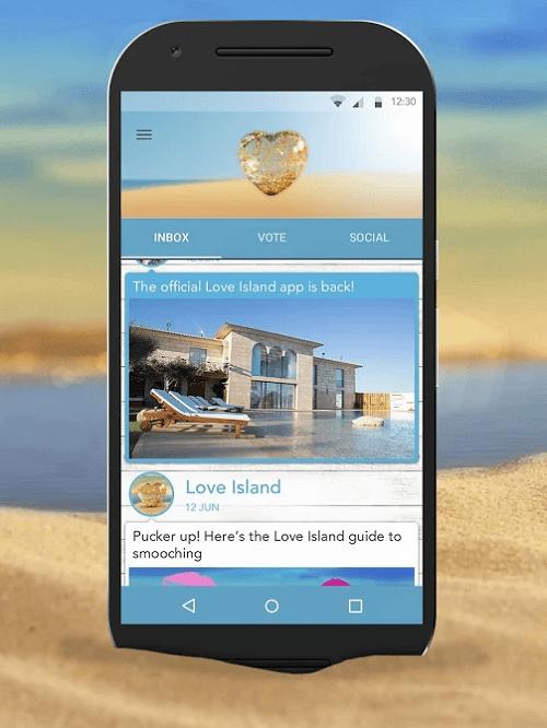 Aplicación Love Island