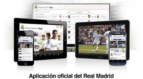 Aplicación oficial del Real Madrid