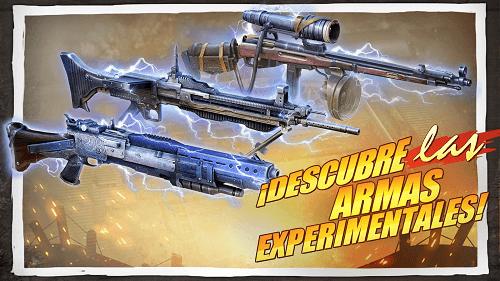 Armas experimentales
