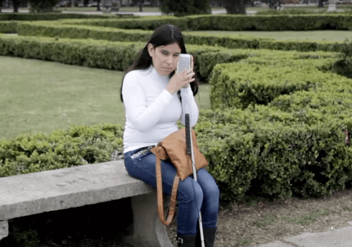 Brailling está diseñada para las personas no videntes
