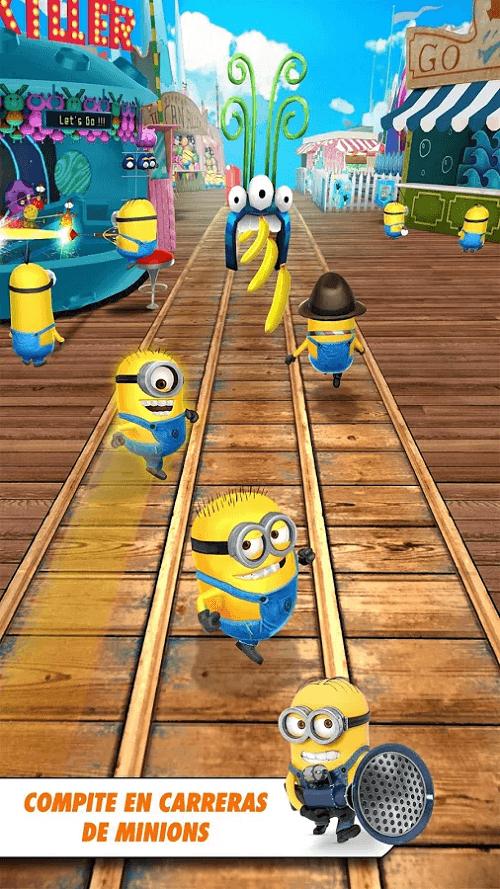 Compite en carreras