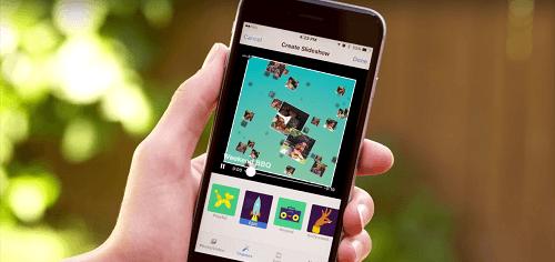 Crear un video con Slideshow