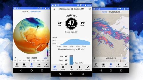 Dark Sky para Android