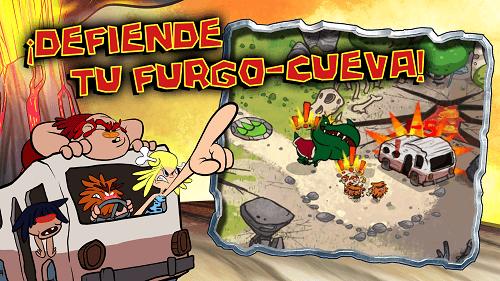 Defender la furgo-cueva de los dinosaurios