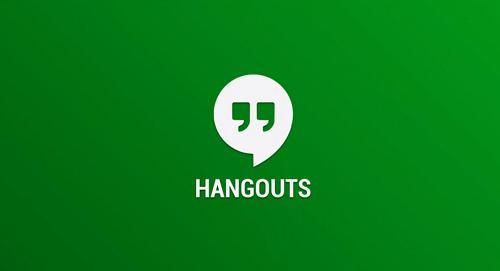 Descargar Hangouts para Tablet