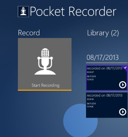 Descargar Pocket Recorder para Android