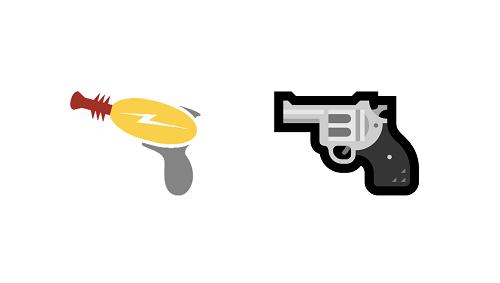 Diferencias entre los emojis