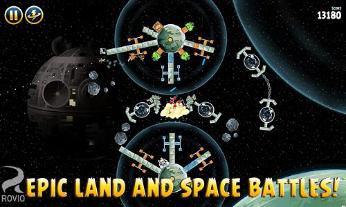 Disfruta de batallas espaciales
