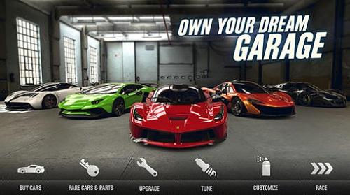 Exhibición de sus vehículos