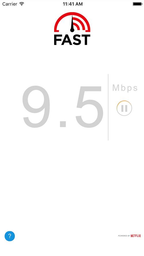 FAST Speed Test para iOS