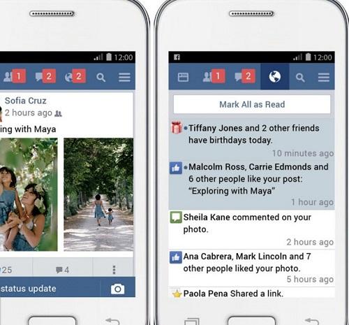 Facebook Lite en Android