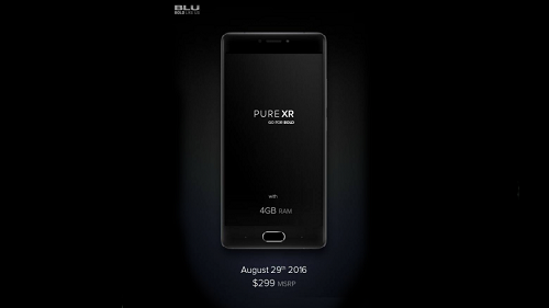 Foto teaser del BLU Pure XR
