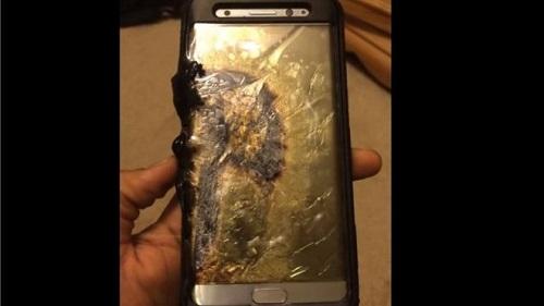Baterías explosivas del Samsung Note7